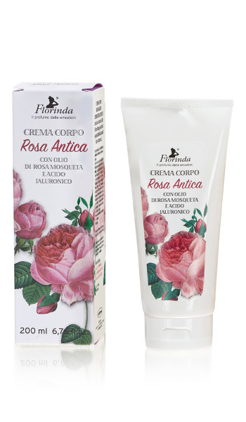 Florinda Körpercreme Rosa Antica 200ml