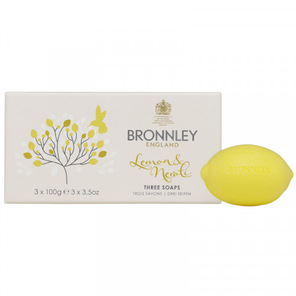 Bronnley Gästeseife Lemon & Neroli 3 x 100g