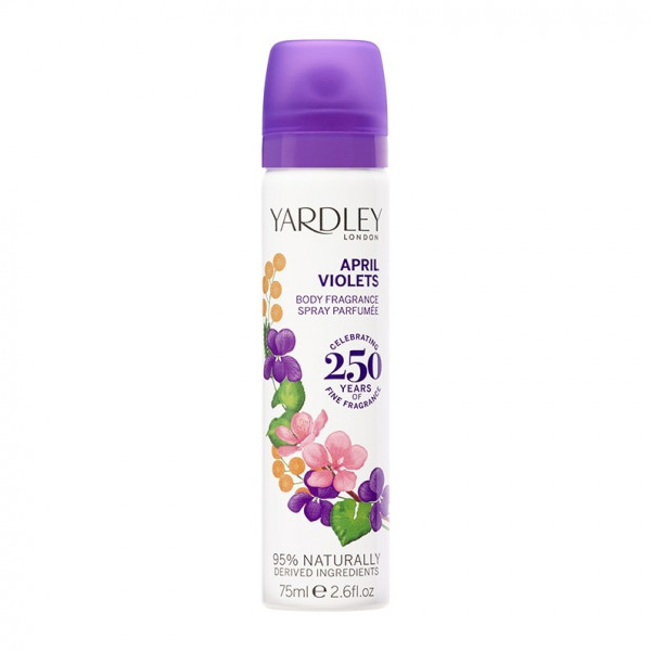 Yardley London Deospray April Violets 75ml