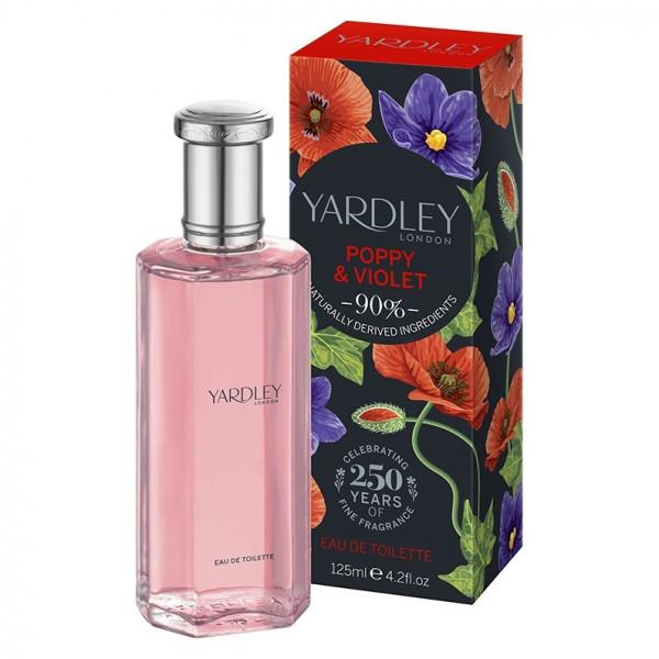 Yardley London Eau de Toilette Poppy & Violet 125ml