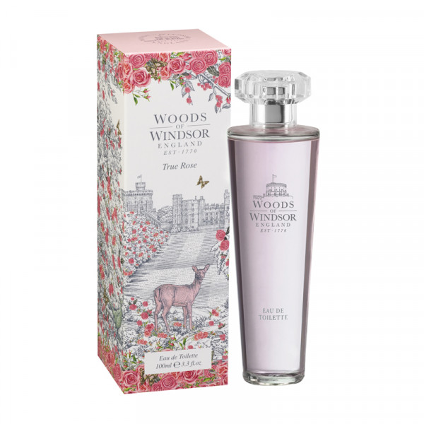 Woods of Windsor Eau de Toilette True Rose 100ml