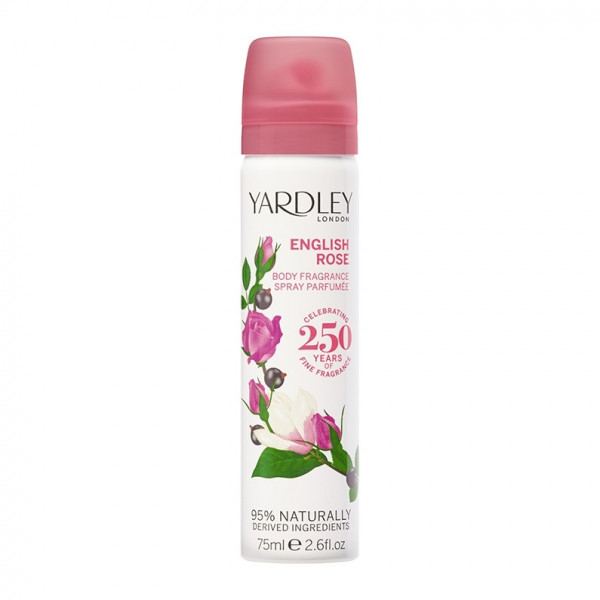 Yardley London Deospray English Rose 75ml