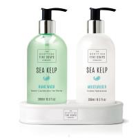 Scottish Fine Soaps Flüssigseife & Feuchtigkeitscreme Sea Kelp je 300ml