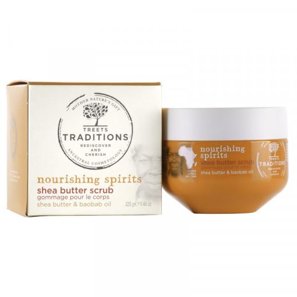 Treets Sheabutter-Peeling Nourishing Spirits 325g
