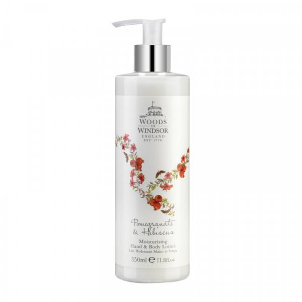 Woods of Windsor Hand- & Körperlotion Granatapfel & Hibiskus 350ml