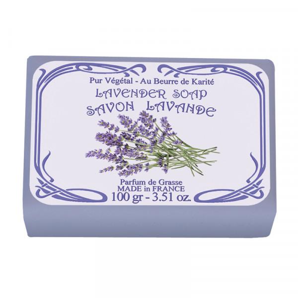 Le Blanc Naturseife Lavendel 100g