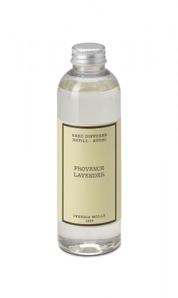 Cereria Mollá 1899 Diffuser Refill Provence Lavender 200ml - FLASCHE EINGEDELLT