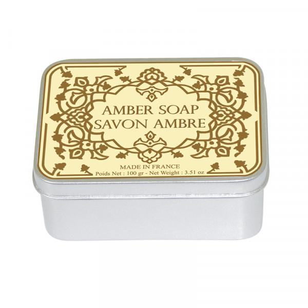 Le Blanc Naturseife Amber in Metallbox 100g