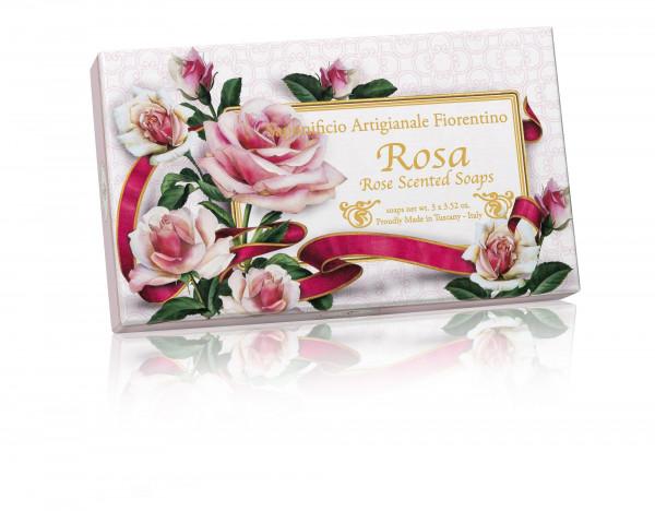 Fiorentino Seife Rose 3 x 100g