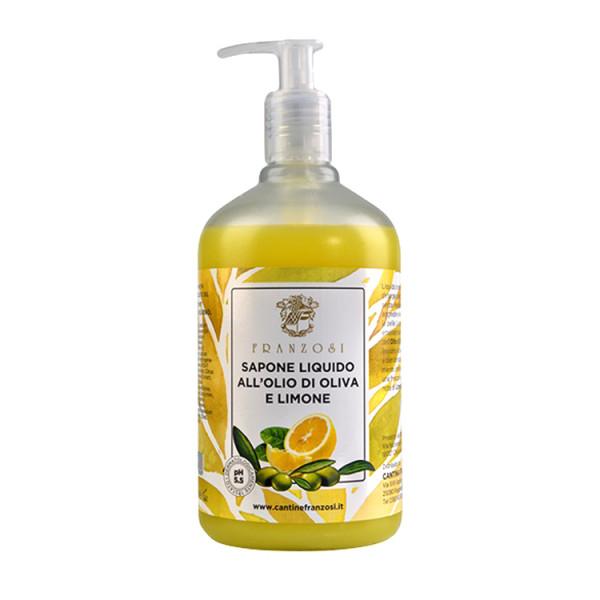 Cantine Franzosi Flüssigseife mit Olivenöl & Zitrone 500ml