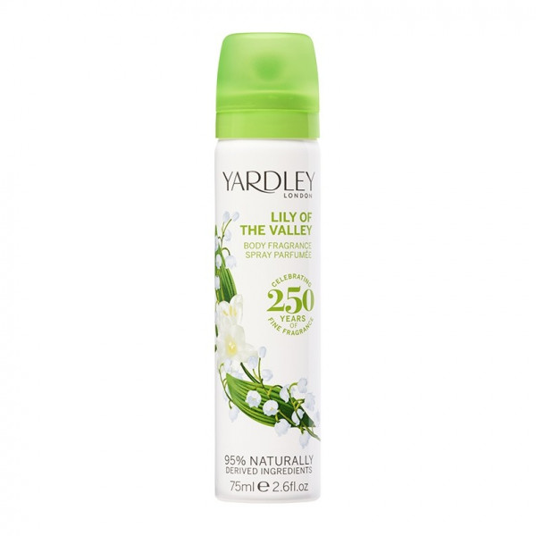 Yardley London Deospray Lily of the Valley 75ml