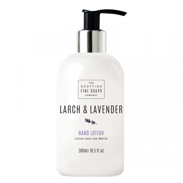 Scottish Fine Soaps Handlotion Larch & Lavender 300ml