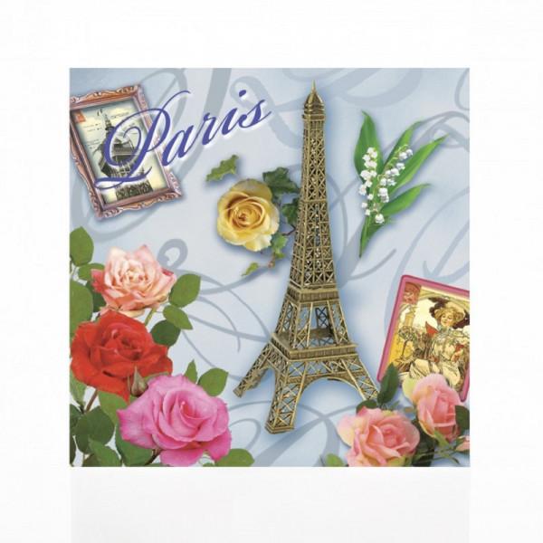 Le Blanc Eiffelturm mit Rosen Duftsachet Rose 8g