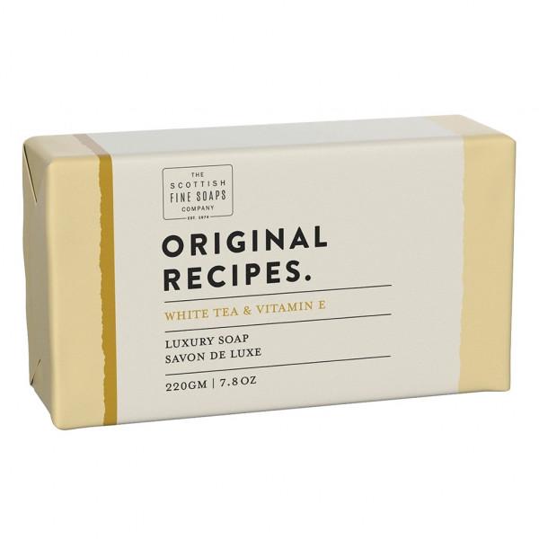 Scottish Fine Soaps Luxusseife White Tea & Vitamin E 220g