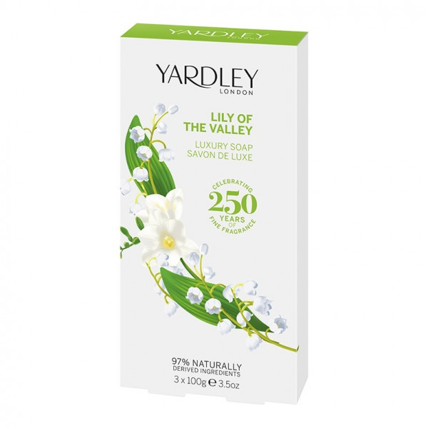 Yardley London Luxusseife Lily of the Valley 3 x 100g