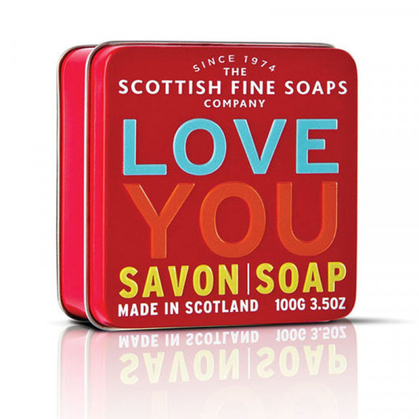 Scottish Fine Soaps Seife Love You in Dose 100g