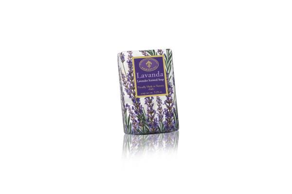 Fiorentino Seife Lavendel in Geschenkpapier 150g