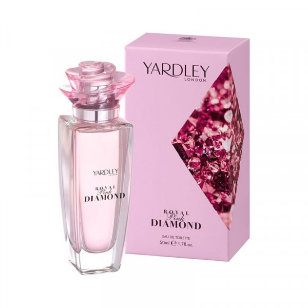 Yardley London Eau de Toilette Royal Pink Diamond 50ml