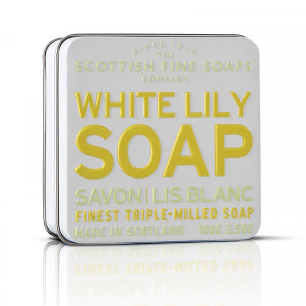 Scottish Fine Soaps Seife White Lily in Dose 100g