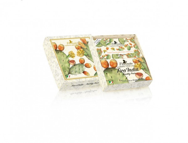Florinda Geschenkset Seife & Duftsachets Fico d'India