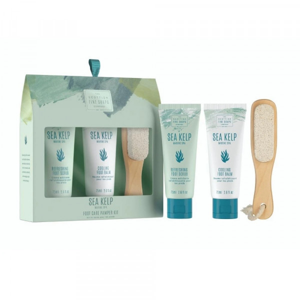 Scottish Fine Soaps Fußpflegeset Sea Kelp - Marine Spa 3-teilig