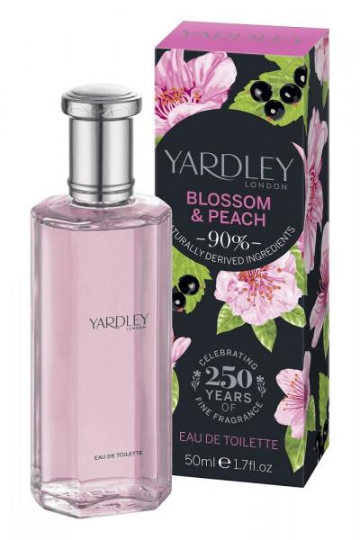 Yardley London Eau de Toilette Blossom & Peach 50ml