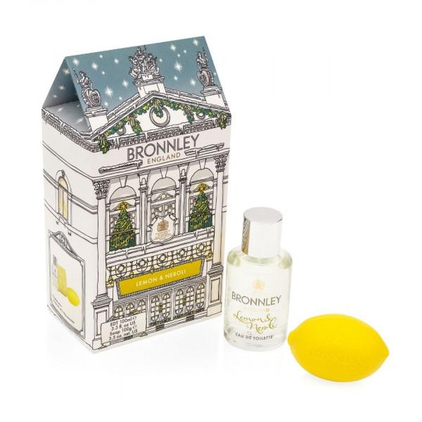 Bronnley Geschenkset Lemon & Neroli 2-teilig