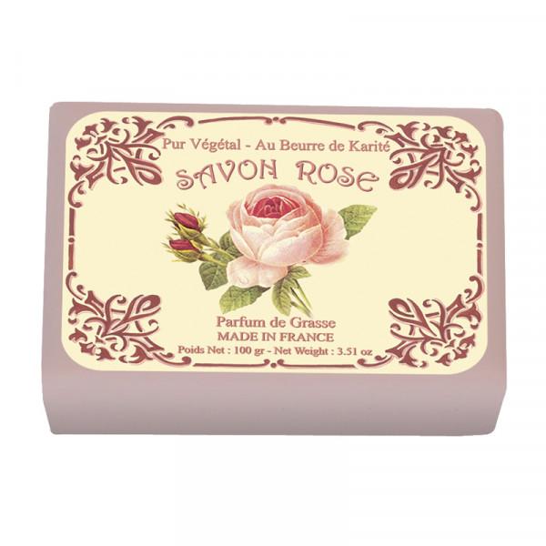 Le Blanc Naturseife Rose 100g