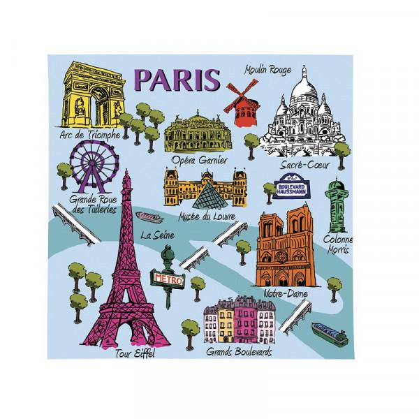 Le Blanc Plan de Paris Duftsachet Iris 8g
