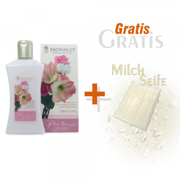 Bronnley Körperlotion Pink Bouquet 250ml