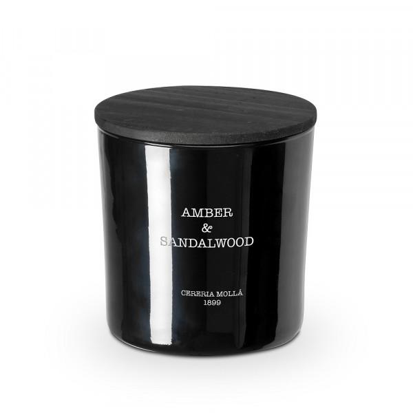 Cereria Mollá 1899 2-Docht-Kerze Amber & Sandalwood 700g
