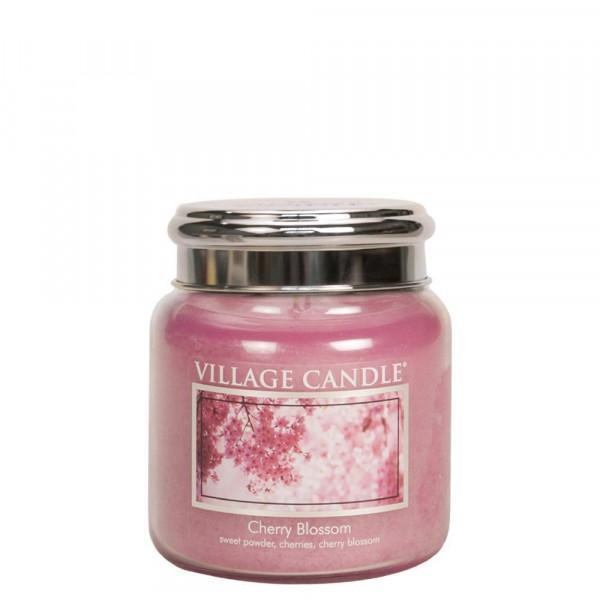 Village Candle Duftkerze Cherry Blossom im Glas 411g