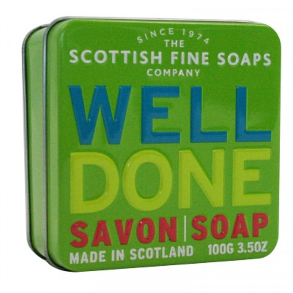 Scottish Fine Soaps Seife Well Done in Dose 100g