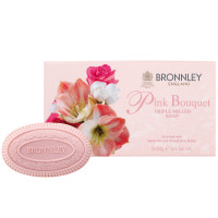 Bronnley Gästeseife Pink Bouquet 3 x 100g
