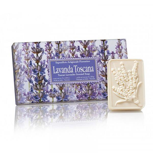 Fiorentino Seife Lavendel 3 x 125g