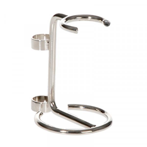 P&P Accessoires silbern glänzender Rasierpinselhalter