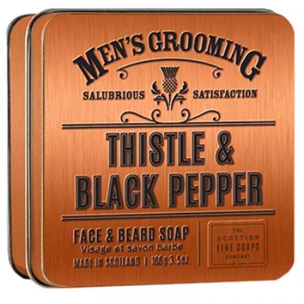 Scottish Fine Soaps Gesichts- & Bartseife Men's Grooming in Dose 100g