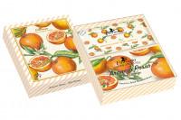 Florinda Geschenkset Seife & Duftsachets Arancio Rosso