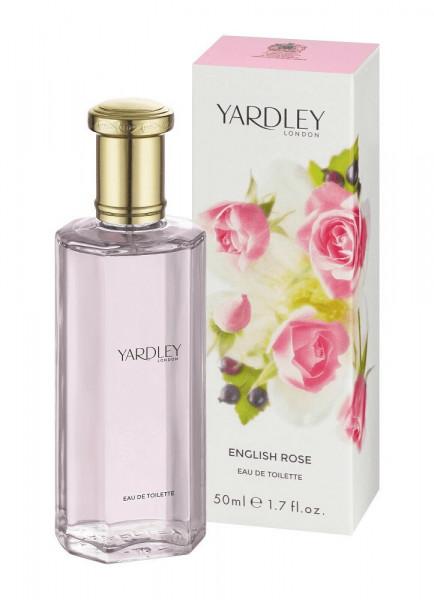 Yardley London Eau de Toilette English Rose 50ml