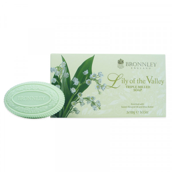Bronnley Gästeseife Lily of the Valley 3 x 100g