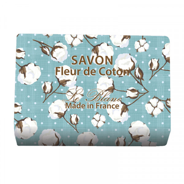 Le Blanc Naturseife Baumwollblüte 100g