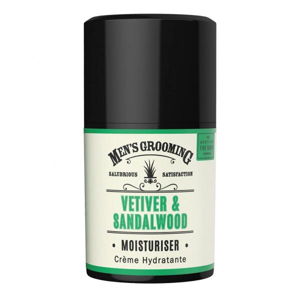 Scottish Fine Soaps Feuchtigkeitscreme Vetiver & Sandalwood 50ml