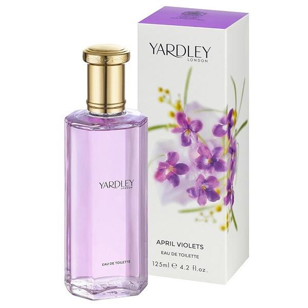 Yardley London Eau de Toilette April Violets 125ml