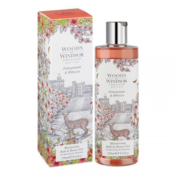 Woods of Windsor Duschgel Granatapfel & Hibiskus 250ml