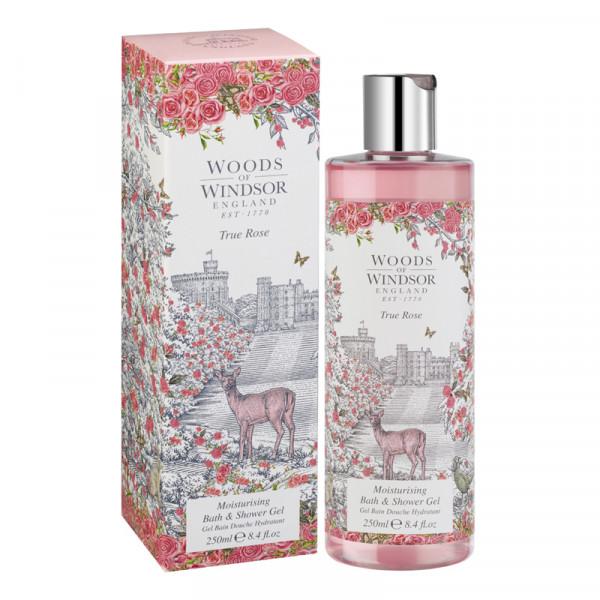 Woods of Windsor Duschgel True Rose 250ml - VERPACKUNG BESCHÄDIGT -