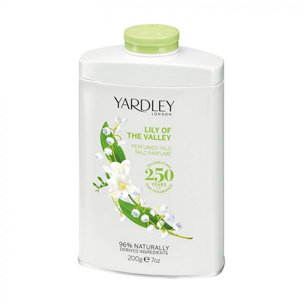 Yardley London Talkumpuder Lily of the Valley 200g