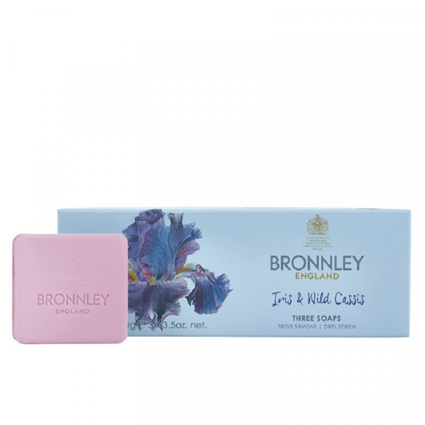 Bronnley Gästeseife Iris & Wild Cassis 3 x 100g