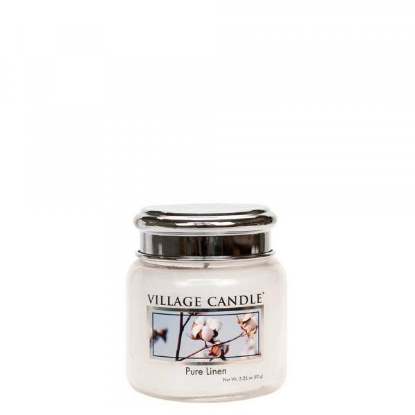 Village Candle Duftkerze Pure Linen im Glas 110g
