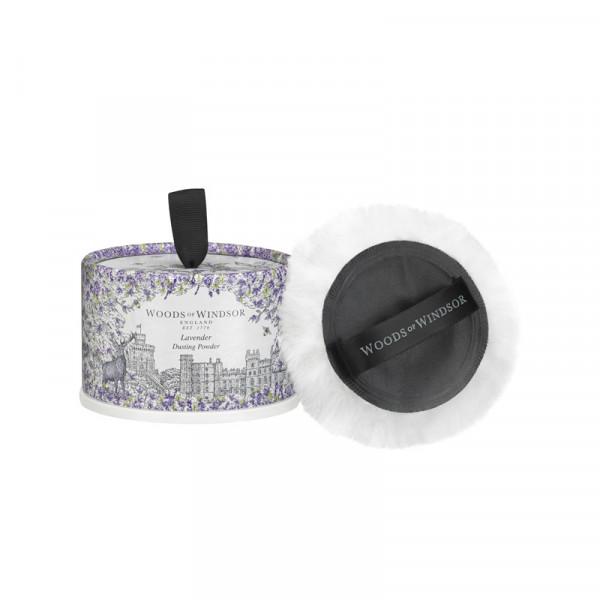 Woods of Windsor Körperpuder Lavendel 100g