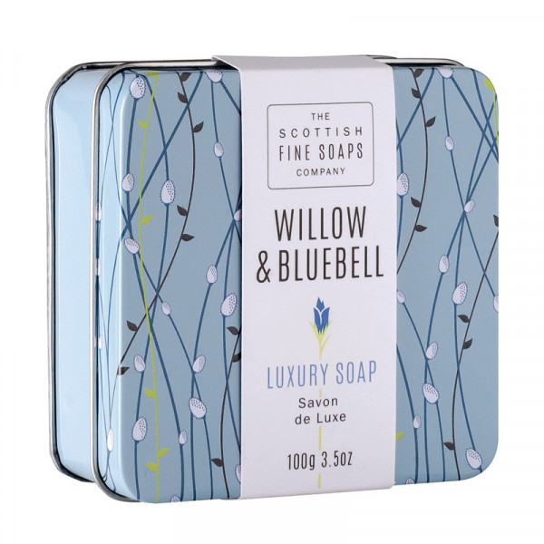 Scottish Fine Soaps Seife Willow & Bluebell in der Dose 100g